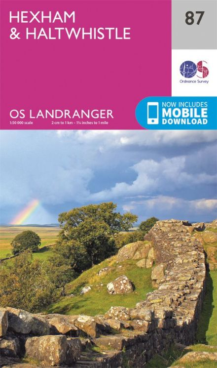 OS Landranger 87 Hexham and Haltwhistle